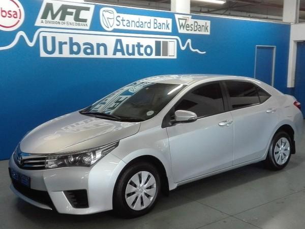2016 Toyota Corolla 1.4D Esteem Western Cape Parow_0