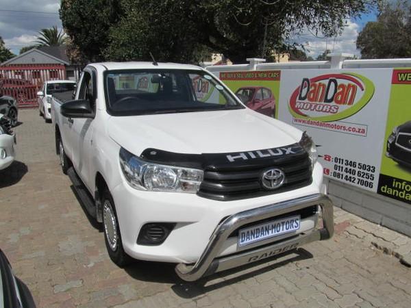 2016 Toyota Hilux 2.0 Vvti Pu Sc  Gauteng Bramley_0