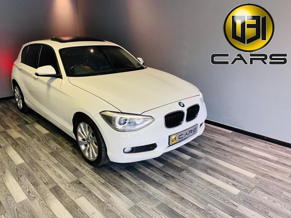 2014 BMW 1 Series 118i Automatic with Sunroof and Xenons  Kwazulu Natal Pinetown_0