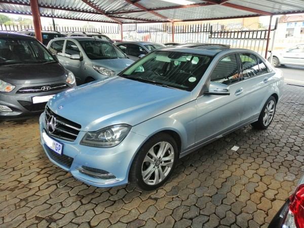 2013 Mercedes-Benz C-Class C200 Cdi  Avantgarde At  Gauteng Jeppestown_0