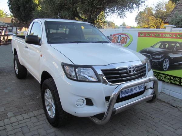 2013 Toyota Hilux 2.5 D-4d Pu Sc  Gauteng Bramley_0