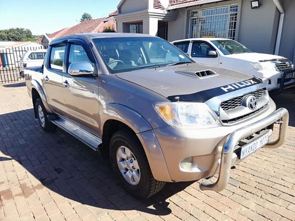 2009 Toyota Hilux 3.0 D-4d Raider Rb Pu Dc  Gauteng Bramley_0