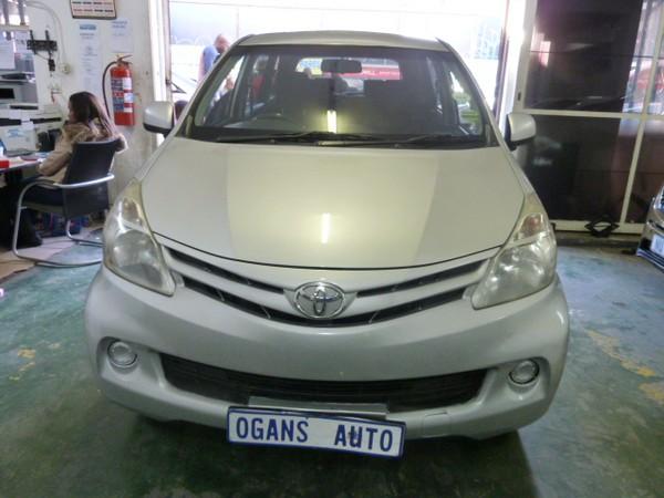 2012 Toyota Avanza 1.5 Sx  Gauteng Johannesburg_0