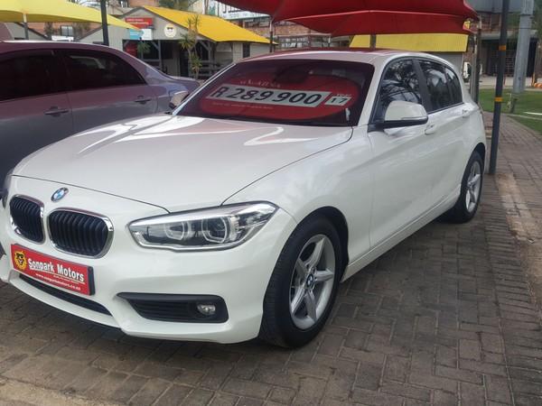2017 BMW 1 Series 118i Sport Line 5dr At f20  Mpumalanga Nelspruit_0