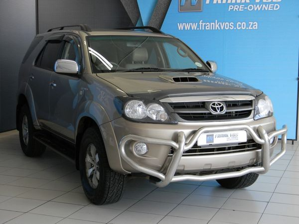 2008 Toyota Fortuner 3.0d-4d Raised Body  Western Cape Somerset West_0