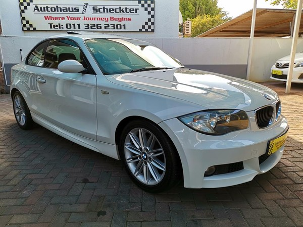 2009 BMW 1 Series 120d Coupe Sport At  Gauteng Randburg_0