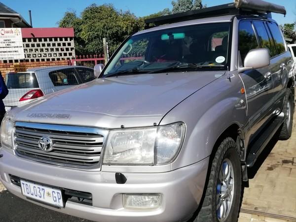 2005 Toyota Land Cruiser 100 V8 At  Gauteng Boksburg_0