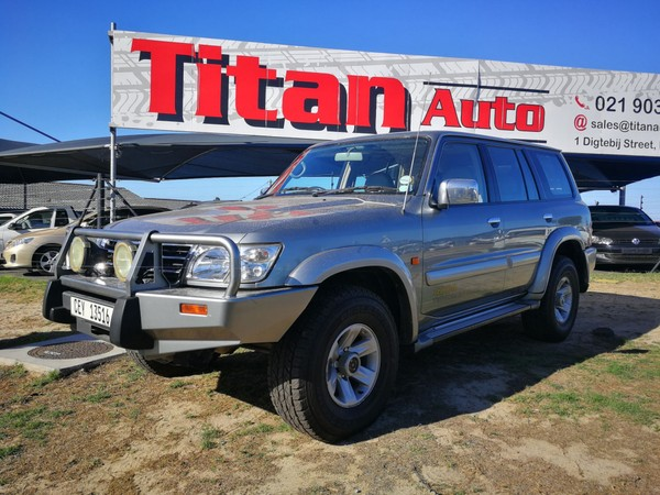 2002 Nissan Patrol 4.8 Grx At c87  Western Cape Kuils River_0