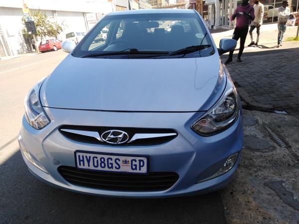 2012 Hyundai Accent 1.6 Gl  Gauteng Jeppestown_0