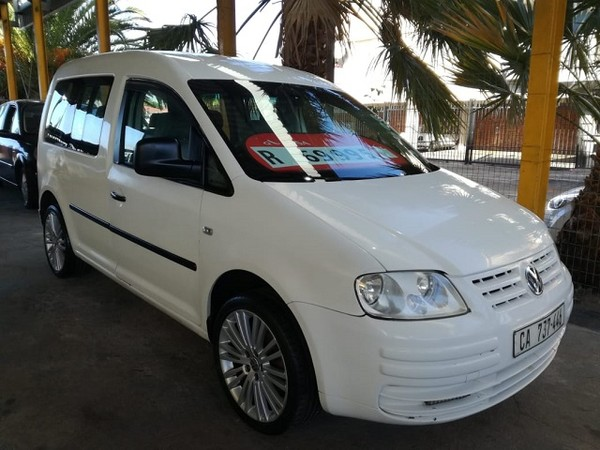 2005 Volkswagen Caddy 1.6i Fc Pv  Western Cape_0