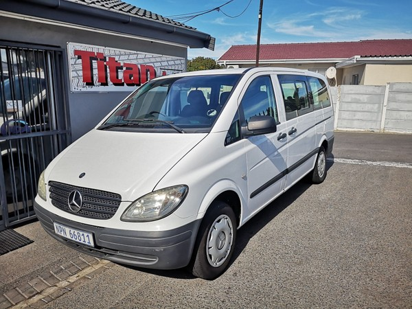 2010 Mercedes-Benz Vito 115 2.2 Cdi Crew Bus  Western Cape Kuils River_0