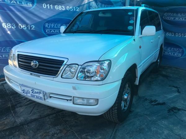 2001 Toyota Land Cruiser 100 V8 At 7 seater   Gauteng Rosettenville_0