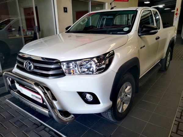 2017 Toyota Hilux 2.4 GD-6 RB SRX Extended Cab Bakkie Western Cape Worcester_0