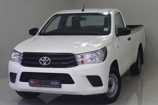 2017 Toyota Hilux 2.4 GD AC Single Cab Bakkie Gauteng Nigel_0