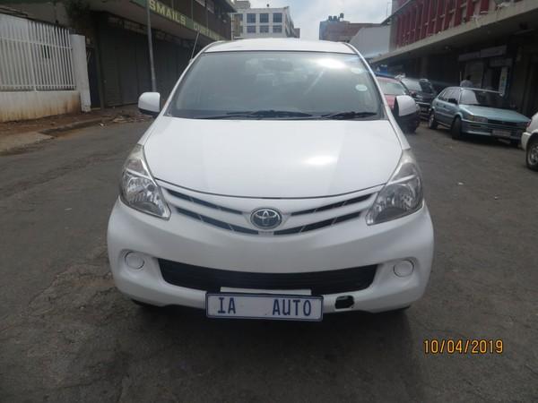 2015 Toyota Avanza 1.5 Sx  Gauteng Johannesburg_0