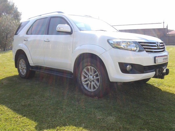 2014 Toyota Fortuner 4.0 V6 At 4x4  Gauteng Nigel_0