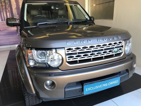 2012 Land Rover Discovery 4 3.0 Tdv6 Hse  Gauteng Midrand_0