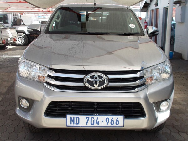 2016 Toyota Hilux 2.8 GD-6 Raider 4x4 Double Cab Bakkie Gauteng Pretoria North_0