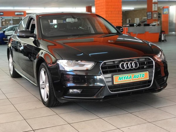 2013 Audi A4 1.8t Se Multitronic  Western Cape Cape Town_0