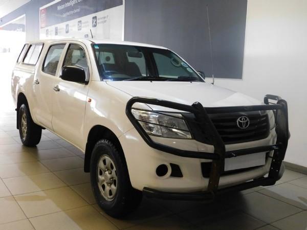 2013 Toyota Hilux 2.5d-4d Srx 4x4 Pu Dc  Kwazulu Natal Durban_0