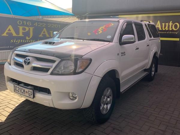 2008 Toyota Hilux 3.0d-4d Raider Pu Dc  Gauteng Vereeniging_0