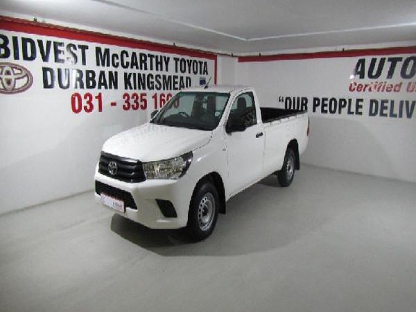 2017 Toyota Hilux 2.4 GD AC Single Cab Bakkie Kwazulu Natal Durban_0