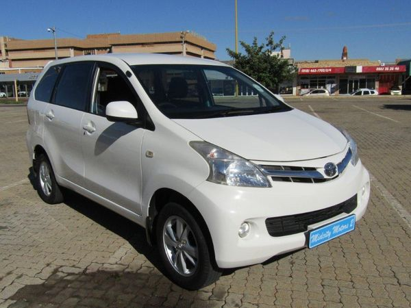 2014 Toyota Avanza 1.5 Tx  North West Province Klerksdorp_0
