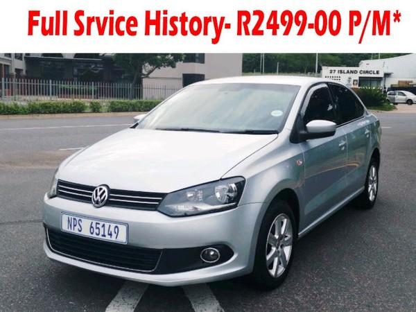 2012 Volkswagen Polo 1.4 Comfortline  Kwazulu Natal Mobeni_0