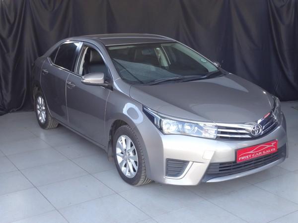 2014 Toyota Corolla 1.6 Prestige CVT Gauteng Johannesburg_0