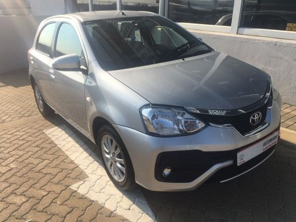 2017 Toyota Etios 1.5 Xs 5dr  North West Province Rustenburg_0