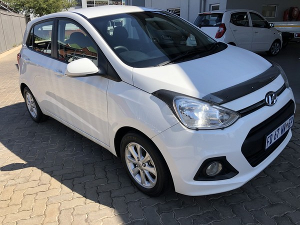 2016 Hyundai i10 GRAND i10 1.25 Fluid Gauteng Hatfield_0