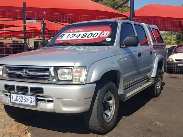 1999 Toyota Hilux 3.0d Raider Rb Pu Dc  Gauteng Boksburg_0