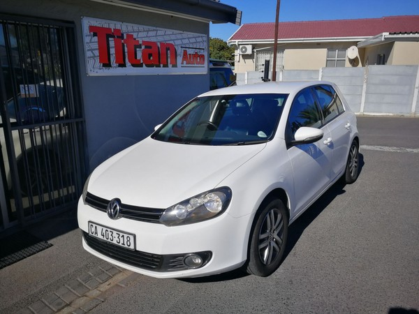 2012 Volkswagen Golf Vi 1.4 Tsi Comfortline  Western Cape Kuils River_0
