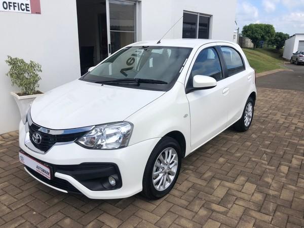 2018 Toyota Etios 1.5 Xs 5dr  Kwazulu Natal Eshowe_0