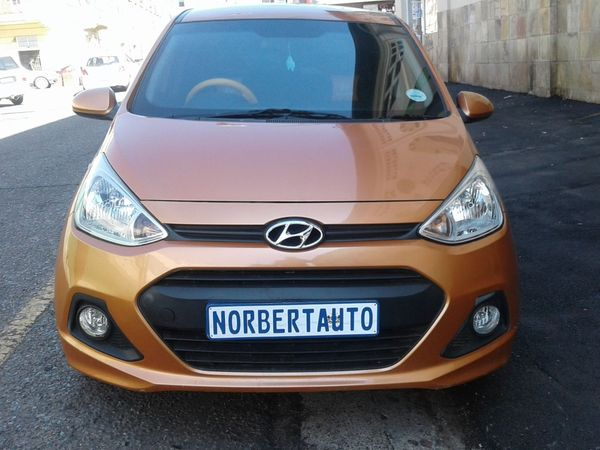 2016 Hyundai i10 GRAND i10 1.25 Fluid Gauteng Johannesburg_0
