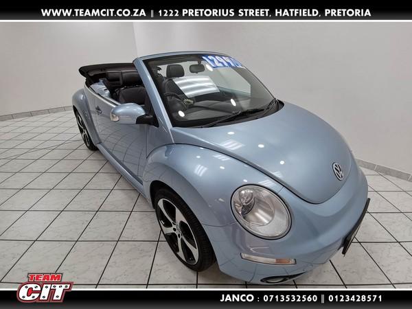 2008 Volkswagen Beetle 2.0 Cabriolet  Gauteng Pretoria_0
