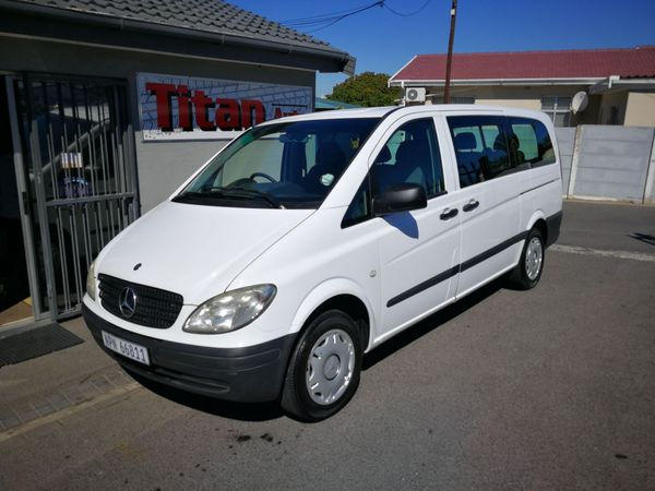 2010 Mercedes-Benz Vito 115 2.2 Cdi Crew Bus  Western Cape Kuils River_0