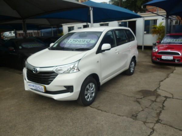 2017 Toyota Avanza 1.5 SX Auto Kwazulu Natal Pietermaritzburg_0