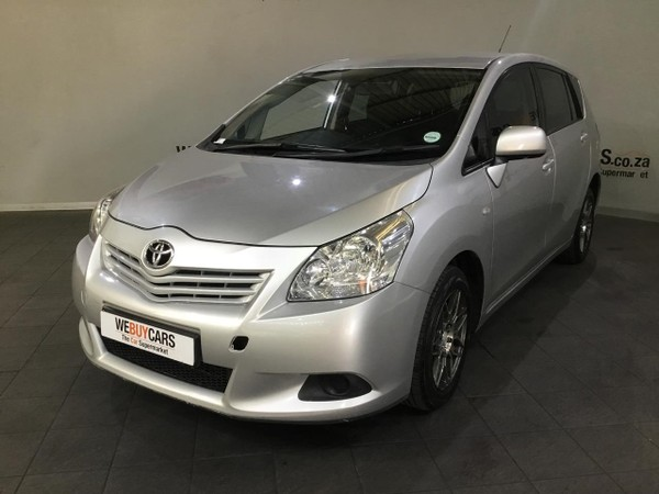 2012 Toyota Verso 1.6 S  Western Cape Cape Town_0