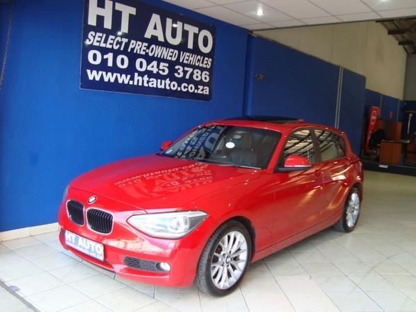 2012 BMW 1 Series 118i 5dr At f20  Gauteng Boksburg_0