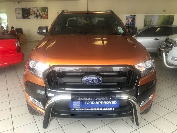 2018 Ford Ranger 3.2TDCi Wildtrack 4x4 Auto Double cab bakkie Gauteng Randfontein_0