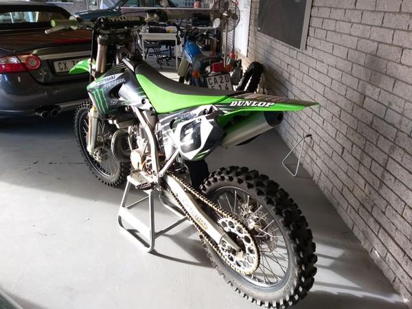 2007 Kawasaki Kx  250 Western Cape Plumstead_0