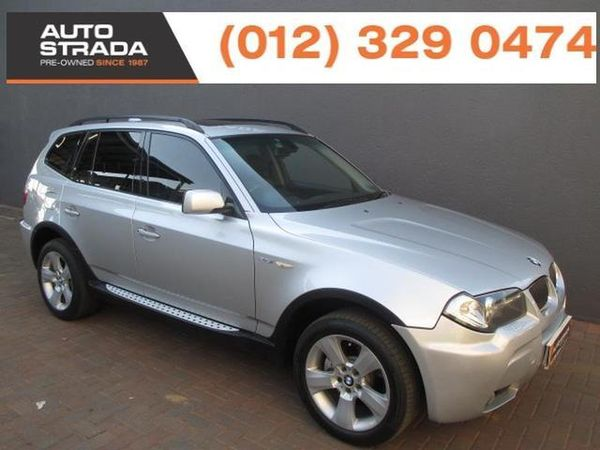 2006 BMW X3 2.5i At  Gauteng Pretoria_0
