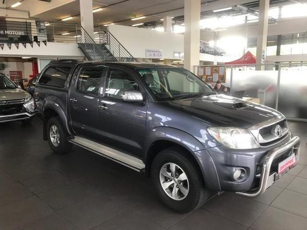 2010 Toyota Hilux 3.0 D-4d Raider Rb Pu Dc  Gauteng Rivonia_0