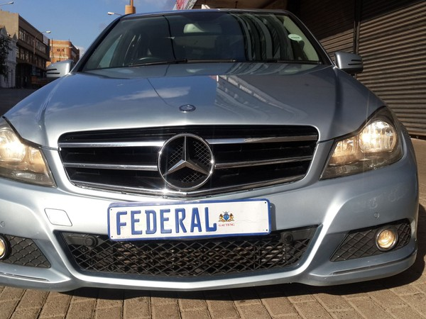 2013 Mercedes-Benz C-Class C200 Be Avantgarde At  Gauteng Johannesburg_0