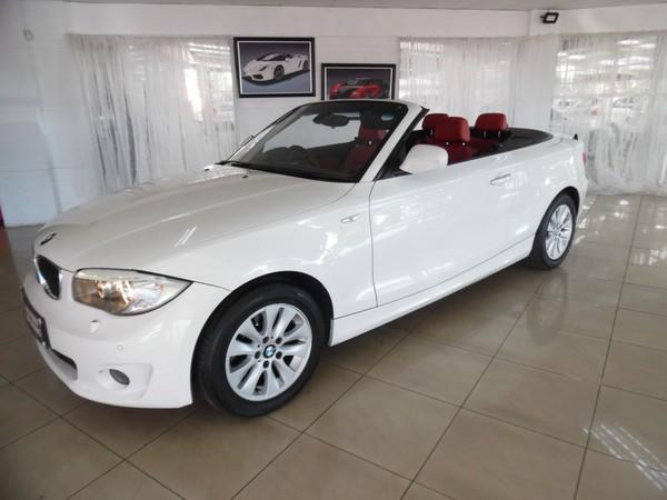 2013 BMW 1 Series 120i Convertible  Gauteng Johannesburg_0