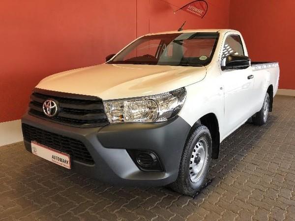 2018 Toyota Hilux 2.0 VVT Single Cab Bakkie Free State Bloemfontein_0