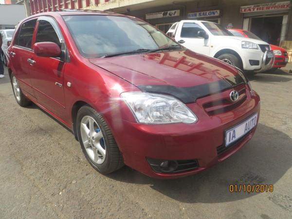 2008 Toyota RunX 180i Rx  Gauteng Johannesburg_0