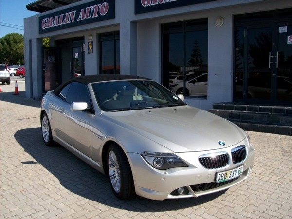 2006 BMW 6 Series 650i Convertible At e64  Eastern Cape Port Elizabeth_0