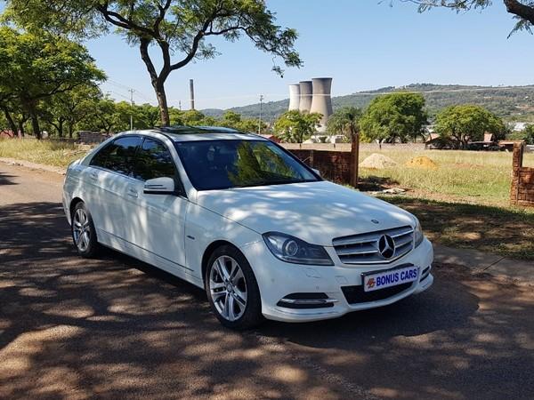 2012 Mercedes-Benz C-Class C180 Be Avantgarde At  Gauteng Pretoria West_0